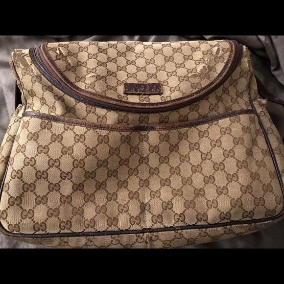 0bae1ba1f1d Gucci Handbags - Gucci Diaper Bag